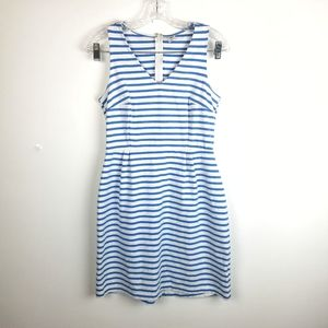 Old Navy Sz S Striped Sleeveless Fit & Flare Dress